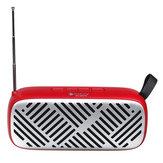 FM Радио Беспроводная связь Bluetooth5.0 6 Вт Стереодинамики SD-карта Воспроизведение U-диска Музыкальный проигрыватель