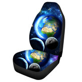 Car Front Seat Covers Fabric Cases Protector Universal Fit For Sedan SUVs
