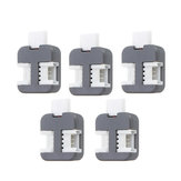 M5Stack® 5Pcs Grove-T Connector PH2.0 4Pin T Type Grove Header Wire Connector Terminal with 3 Ports Compatible with Grove Demoboard