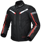 GHOST RACING Motorcycle Jacket Water Repellent Off-road Motocross With Protective Armor Gear Clothing