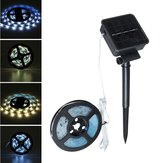 DC2V Solar Powered Waterproof LED Strip Light Outdoor Fairy Lamp for Outdoor Garden Garland Decor