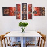 5 قطع كبيرة الحديثة جدار ديكور المنزل الفن لوحات زيتية صورة طباعة غير المؤطرة