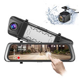 HD 1080P Touch Car DVR Rearview Mirror Sprint Camera Video Driving Recorder Speedometer Anti-theft Security Streaming Media Player