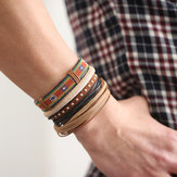 Casual Multi Leather Bracelets