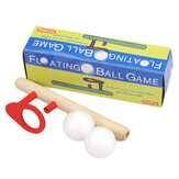 AUGIENB Wooden Balance Blow Pipe Ball Toy Kids Adult Childhood Classic Game Educational Toys Gift