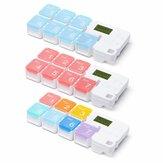 IPREE Smart Pill Storage Box Ηλεκτρονική υπενθύμιση χρονισμού Pill Alarm Timing Pill Organizer Tablet Container Case