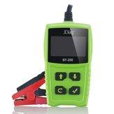 JDiag BT200 Auto Bateria Tester 12 V BT-200 Carro Bateria Life Detector CCA Voltage Analyzer com Multi Languages Car Bateria Test