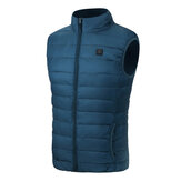 Electric Vest Heated Jacket USB Thermal Warm Heat Pad