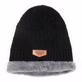 Uomo Donna Cappello lavorato a maglia più caldo Cappelli invernali Sport all'aria aperta Caccia Escursionismo