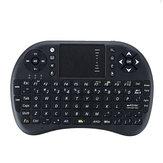 UKB-500-RF 2.4G Inglês sem fio Mini teclado Touchpad Air Mouse Airmouse para TV Caixa Mini PC