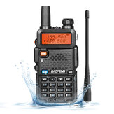 Baofeng UV-5R Ⅲ Walkie Talkie 136-174MHz 220-260MHz 400-520MHz bidirezionale Radio