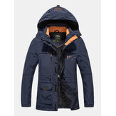 Waterproof Multi-Pockets Detachable Hood Jacket for Men