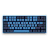 AKKO 3084 SP Ocean Star 84 Keys Mekanisk gamingtastatur PBT Keycap Cherry Switch USB 2.0 Type-C Kablet sidebrev Caverd Design Gaming Keyboard