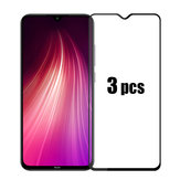BAKEEY 3pcs Anti-explosion Full Cover Tempered Glass Screen Protector for Xiaomi Redmi Note 8 Non-original