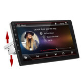 10.1 Polegada 1 Din para Android 8.1 4 Núcleo 1 + 16G Carro Stereo Radio Multimedia Player Tela de Toque Ajustável GPS Wifi bluetooth FM AM DSP