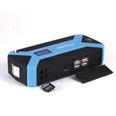 89800mAh المحمولة 12 فولت سيارة الانتقال كاتب متعددة الوظائف حزمة Booster البطارية شاحن 4 USB الطوارئ القوة البنك