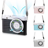 Portable Handed Camera Fan USB Charging Lazy Hanging Neck Mini Fan Ventilador Air Cooler Desktop Outdoor Fans