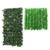 Artificial Green Fence Art Foliage Hedge Backdrop Planta Decoraciones de panel de hierba de pared
