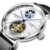 GUANQIN GJ16118 Moon Phase Automatic Mechanical Watch