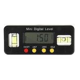 Drillpro 100/150 / 200mm Digitale Wasserwaage Box Elektronik-Winkelmesser Winkelmesser Winkelsucher Bevel Messgerät mit Magnetfuß
