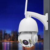 Bakeey 11LED 30X Zoom HD 2MP WiFi Inalámbrico 1080P Seguridad IP Cámara al aire libre PTZ Impermeable Visión nocturna ONVIF - Enchufe de la UE