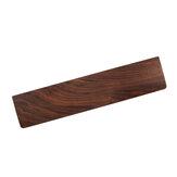 Almofada de descanso de pulso de madeira de nogueira Teclado Suporte de proteção de pulso de madeira Mouse Pad antiderrapante para 60% do teclado ou 80% Mecânico Teclado