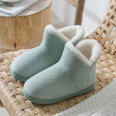 Comfortable Soft Warm Home Shoe Non-Slip Ankle Boots