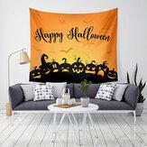 LWG6 Halloween Gobelin Nadruk z dyni Wiszący Gobelin Wall Art Home Decor Dekoracje na Halloween dla domu