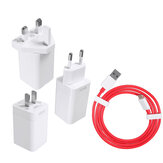 Oneplus 7 / 6T / 6 / 5T / 5 / 3T / 3 6 Dash 5V / 4A Travel Wall Power Adapter Fast Charger + USB-C Cable