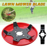 Outdoor Garden Grass Trimmer Head Lawn Mower Blades Steel Brush Cutter Blades with Protective Cover