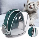 5 kleuren ademende transparante pet-reisrugzak Dog Cat Carrier-schoudertas