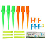6Pcs Automatic Watering Irrigation Spikes Garden Plant Flower Bottle Sprinkler Drip Irrigation System