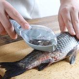 Рыба Весы Снятие Инструмент с крышкой Кухня Шкала Скребок Руководство Рыба Шкала Инструмент
