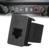 Auto CB UHF Blank Sockel RJ45 Funkschalter Panel Dash Für Toyota Hilux Landcruiser RAV4 Prado