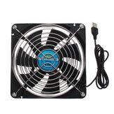 14CM Универсальный маршрутизатор Вентилятор охлаждения 5V USB-приставка Коробка Широкополосный Кот Стойка охлаждения