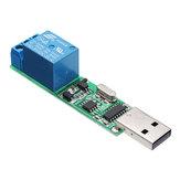 YYE-3 USB Kontrol Röle Modülü CH340 MCU PC Kontrol Anahtarı PLC Jog Kendinden kilitleme Kurulu