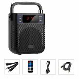 Haoyes V12 Bluetooth 4.2 1800mAh Support /TF/SD Card Wireless Portable Bluetooth Speaker/Microphone/UHF Headset Mic