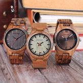 BOBOBIRDQ05Relógiodepulso exclusivo para homens em madeira Design
