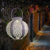 Солнечный свет На открытом воздухе Декоративный фонарь в стиле ретро для Сад патио
