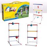 Işık-Up Merdiveni Topu Toss 8 Topları ile Set Outdoor Köy Çim Toss Oyuncaklar
