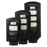 117/234/351 LED Solar Street ضوء Radar Motion المستشعر Wall Lamp Timing التحكم عن بعد