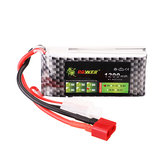 LION Power 7.4V 1200mAh 60C 3S Lipo Batterie T Plug pour voiture RC