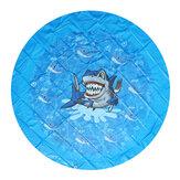 170 cm verão água inflável jogar mat Praia jogar brinquedos sprinkler pad crianças vadear brinquedos