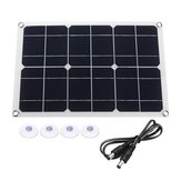 20W Dual USB 18V Solar Panel Charger Cell Phone Battery Charger For Cycling Climbing Hiking Camping Traveling