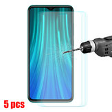 Bakeey 5pcs 9H Anti-explosion Anti-scratch Tempered Glass Screen Protector for Xiaomi Redmi Note 8 Pro Non-original