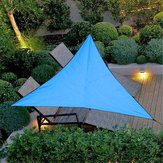 3m Triangular Waterproof Tent Sunshade Garden Patio Awning Canopy Sun Shelter