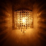 E14 LED Crystal Wall Lamp Modern Home Bedroom Chandelier Sconce Lamp Indoor Fixture