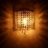E14 LED Cristal Applique Murale Moderne Maison Chambre Lustre Applique Lampe Luminaire Intérieur