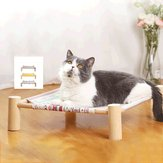 Cat Hammock Four Corner Cat Litter Desmontable Cat Hammock Supplies Pet Pad Cama colgante