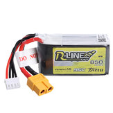 TATTU R-Line 11.1V 850mAh 95C 3S Lipo Batería XT60 Enchufe para multirotor de 100 mm a 180 mm FPV